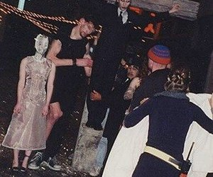 god, manson, and marilyn image