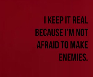 quotes, red, and enemies image