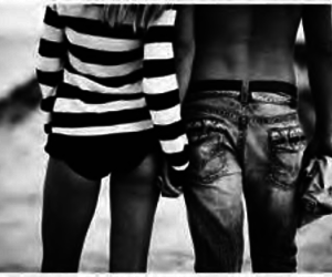 black, couple, and holding hands image