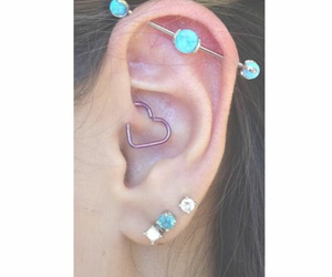 heart, i want it, and pircings image