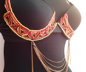 beads, belly dance, and accessories for stars image