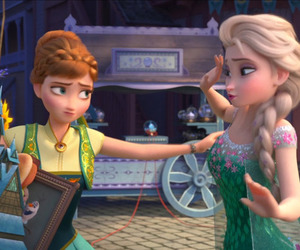 frozen fever, anna, and disney image