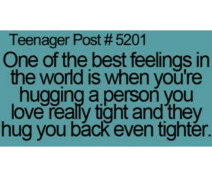funny, quote, and hugs image
