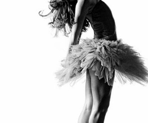 black and white, dancer, and dance image