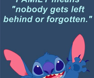 family, stitch, and ohana image