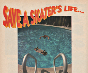 pool, skate, and skater image