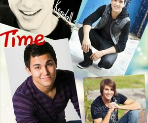 Collage, kendall schmidt, and big time rush image