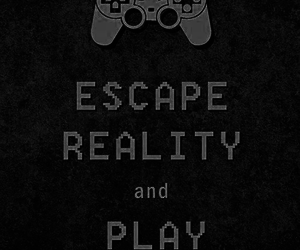 game, escape, and reality image