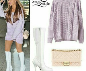 ariana grande, outfit, and steal her style image