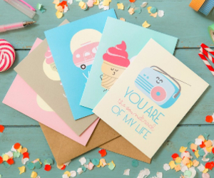 cards, funny, and pastel image