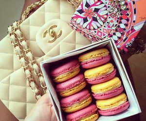 luxury, chanel, and food image