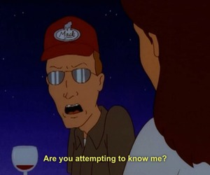 King of the Hill, funny, and quotes image