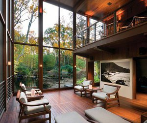 lovely, wood, and modern image