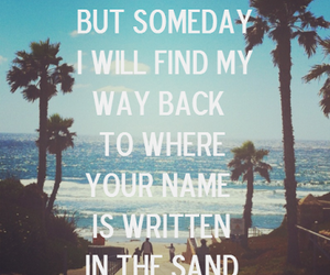 summer, sand, and simple plan image