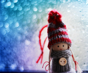 cute, doll, and winter image