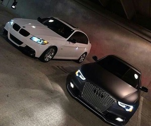 car, audi, and bmw image