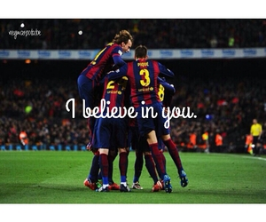 Barca, football, and quotes image