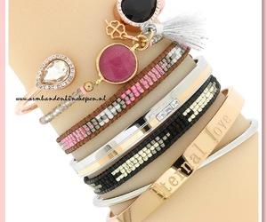 bracelets, tassel, and sieraden image
