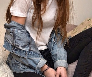 grunge, tumblr, and girl image