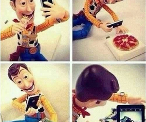 funny, toy story, and instagram image