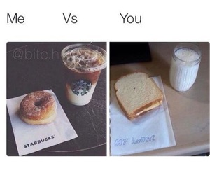 me vs you, difference, and funny image