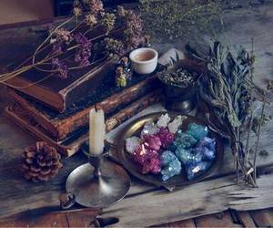 flower, stones, and monday image