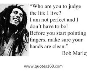 bob marley, quote, and life image