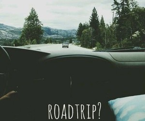 roadtrip, travel, and road image