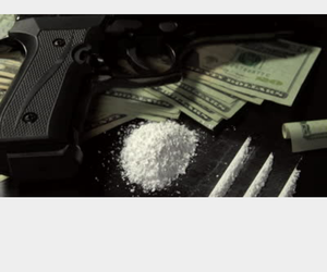 cash, cocaine, and drugs image