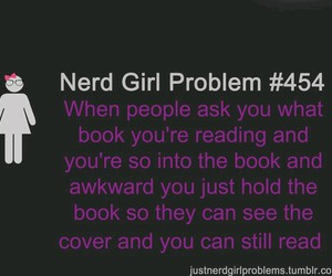 fangirl and nerd girl problems image