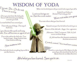 quote, wisdom, and yoda image