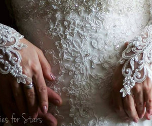 beads, bride, and ivory image