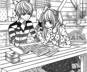 brothers, studing, and shoujo manga image