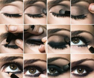 beautiful, black, and eyeliner image