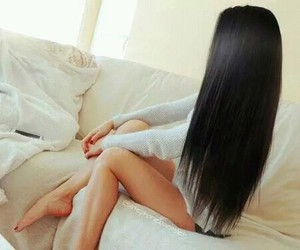 cute girl, hair, and legs image