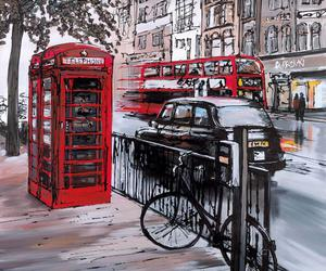 london, art, and street image