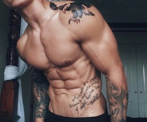 sixpack and Tattoos image