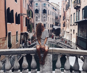 travel, italy, and venice image