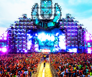 festival, tomorrowland, and party image