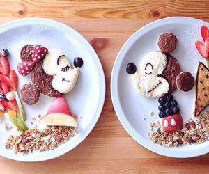 food, mickey, and disney image