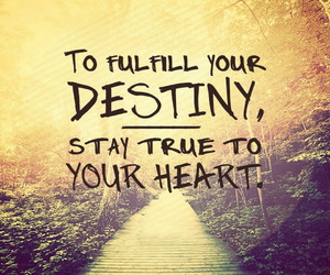 destiny, quotes, and heart image