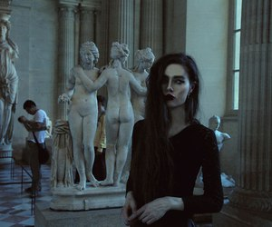 beauty, violet ell, and grunge image