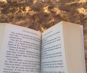 beach, good time, and reading image