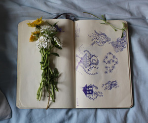 flowers, art, and indie image