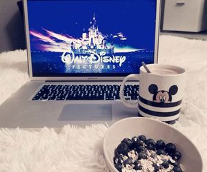 disney, food, and girl image