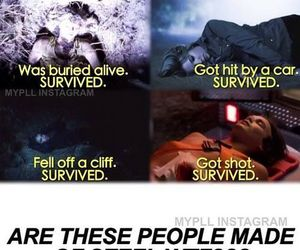 survive, pll, and funny image