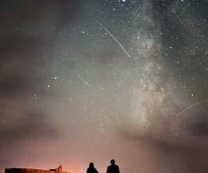 background, night, and couple image