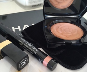 chanel, lipstick, and make up image