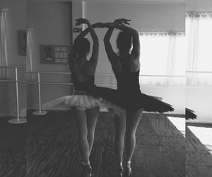 ballet, love, and frienes image