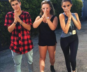 madison, jack and jack, and madison beer image